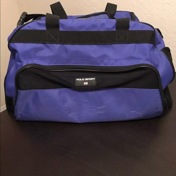 Polo Sport Ralph Lauren Vintage Duffle Gym bag. M 5b7370c21070ee39e45fcc61 0fb64f9cd4cd1